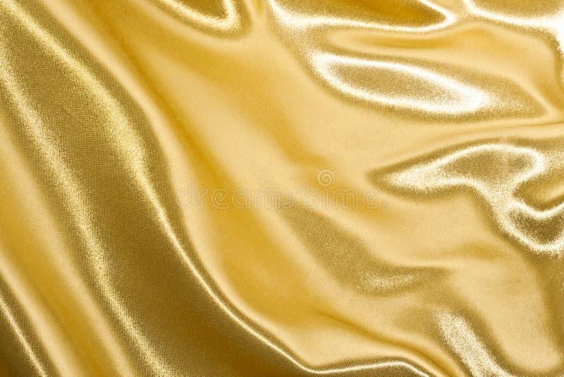 Seda de oro fotografía de archivo