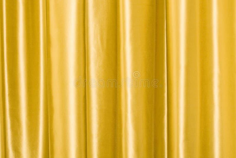 Seda de oro fotografía de archivo libre de regalías