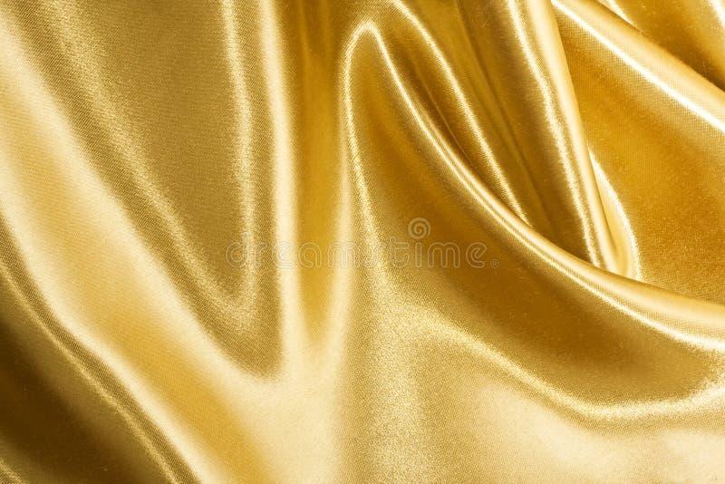 Seda de oro imágenes de archivo libres de regalías