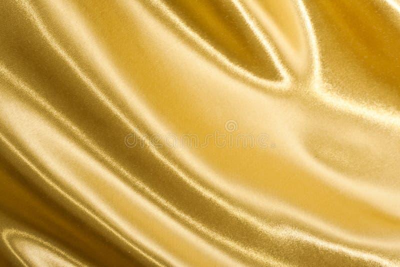 Seda de oro imagen de archivo