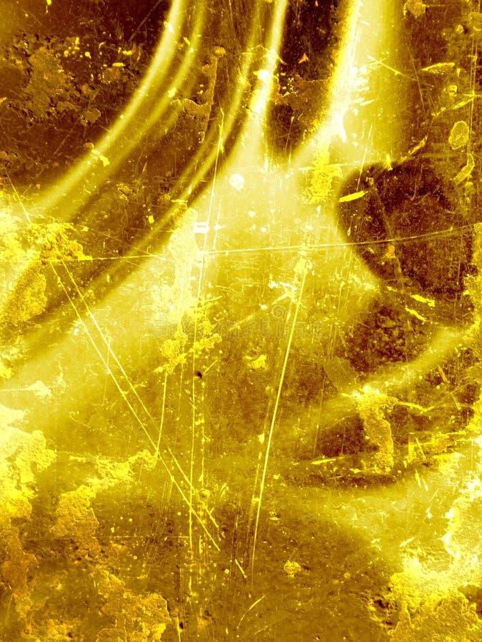 Seda del oro ilustración del vector