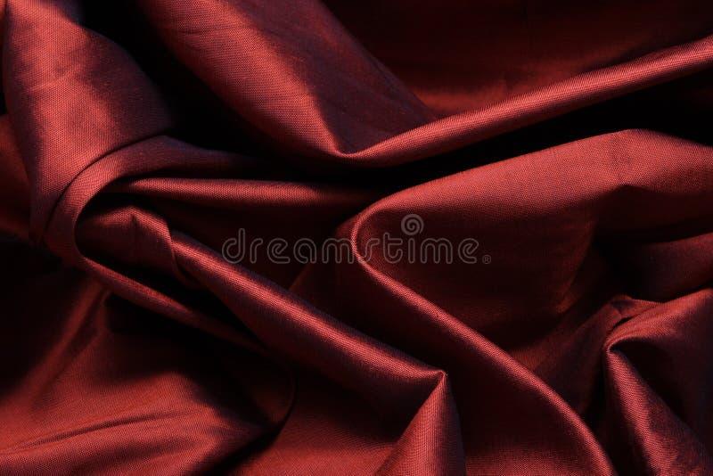 Seda roja imagen de archivo libre de regalías