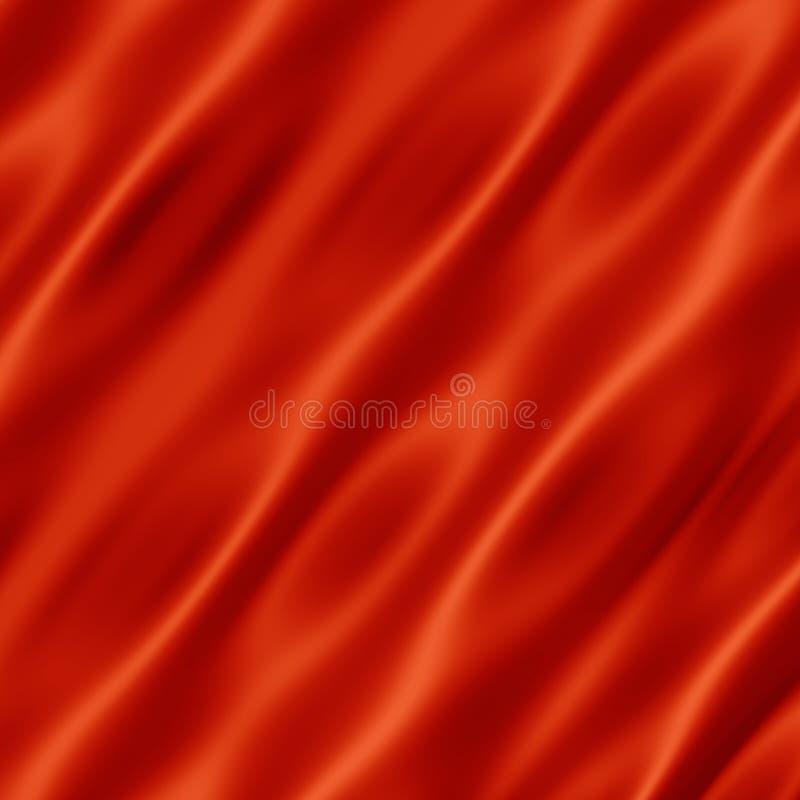 Seda roja stock de ilustración