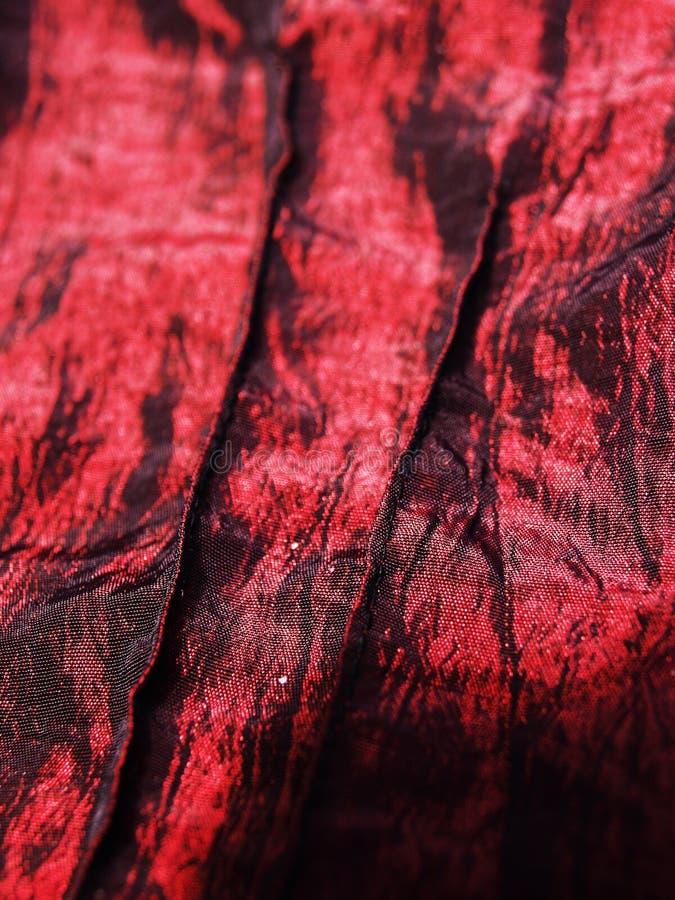 Seda roja fotografía de archivo