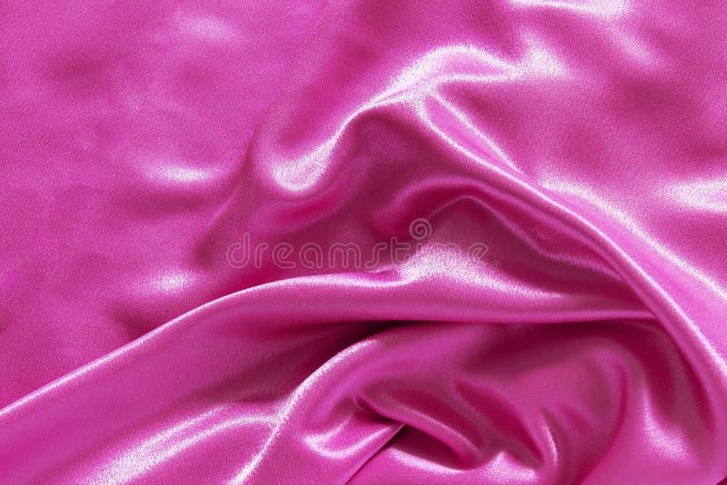 Seda rosada elegante lisa Copos de ma?z imagen de archivo libre de regalías