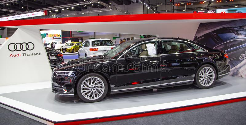 Sedan 2019 de Audi A8 imagem de stock royalty free