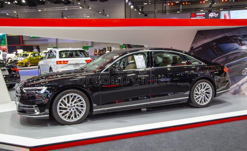 Sedan 2019 de Audi A8 imagens de stock royalty free