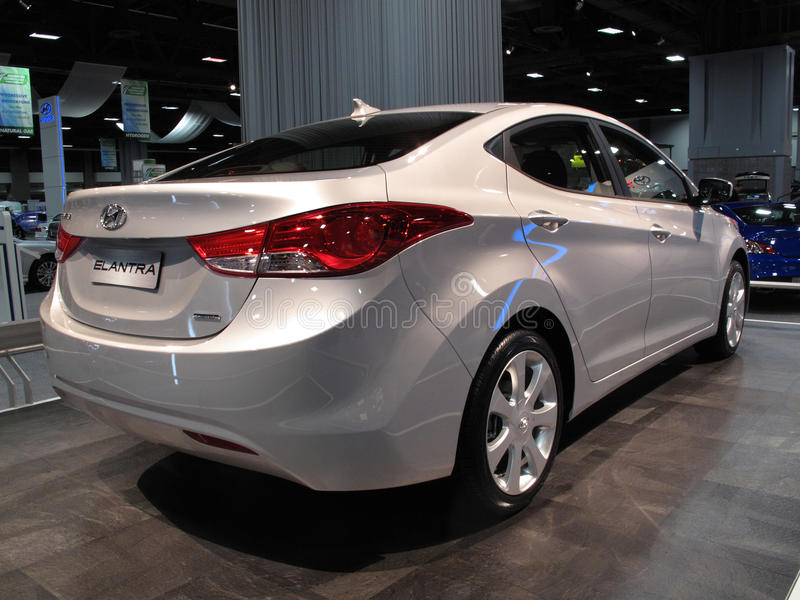 Sedan de Hyundai Elantra fotos de stock