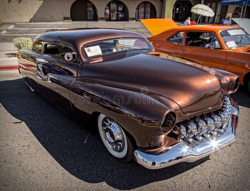 1951 sedan de Mercury de duas portas fotografia de stock