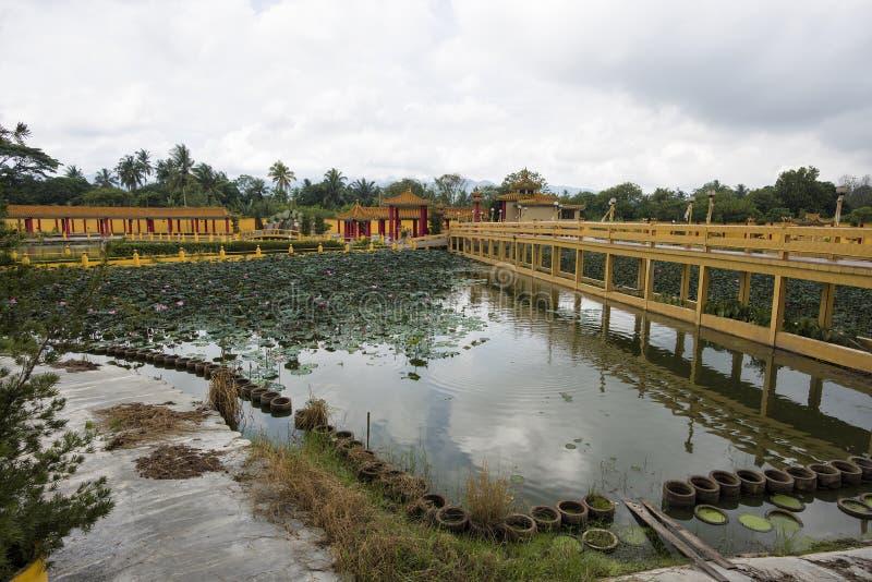 Sedd Hock Yeen, Konfucius tempel, Chemor, Malaysia fotografering för bildbyråer