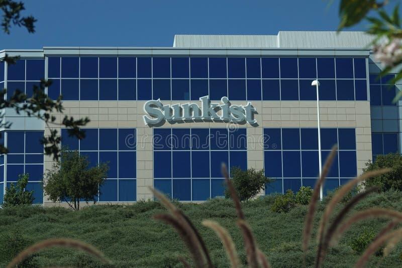 Sede central de Sunkist en Santa Clarita, California imagen de archivo
