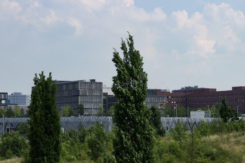 Sede de Krupp no horizonte foto de stock royalty free