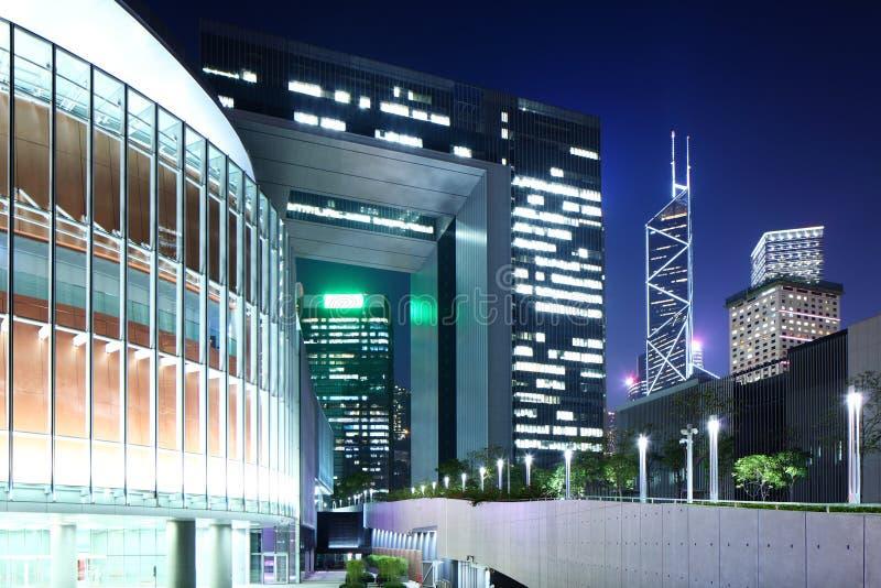 Sede del gobierno en Hong Kong imagenes de archivo