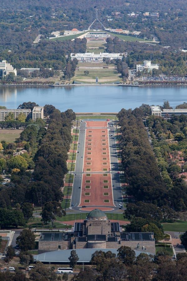 Sede del parlamento a Canberra fotografia stock libera da diritti
