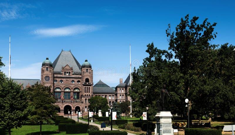 Sede del parlamento di Ontario immagini stock
