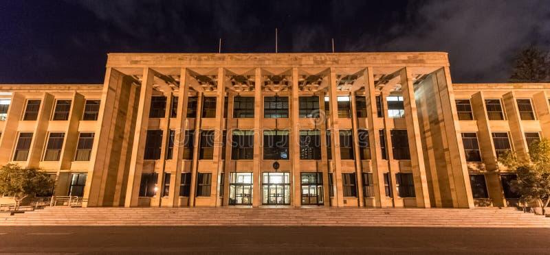 Sede del parlamento, Perth immagini stock libere da diritti