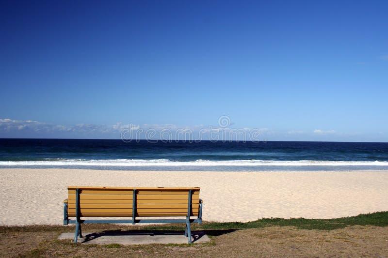 Download Sede della spiaggia immagine stock. Immagine di queensland - 208263