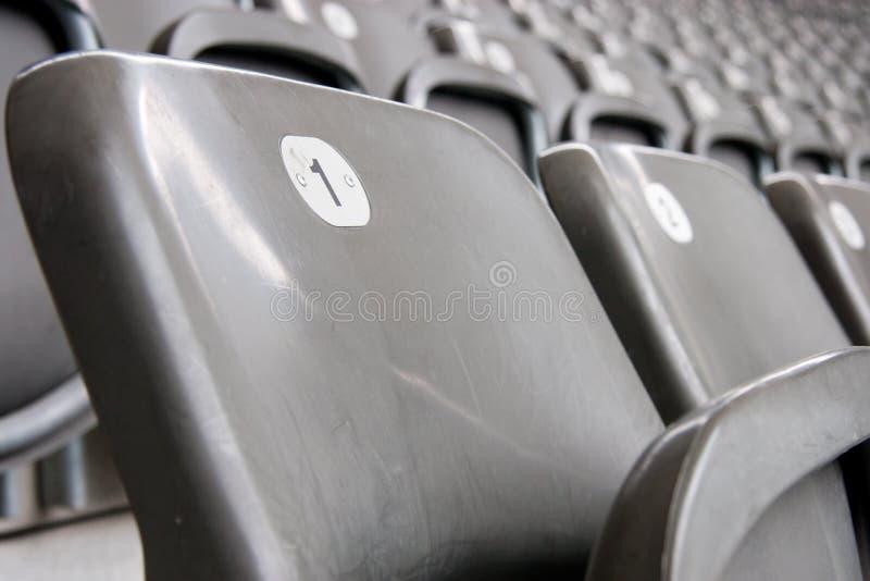 Sede di gioco del calcio fotografia stock libera da diritti