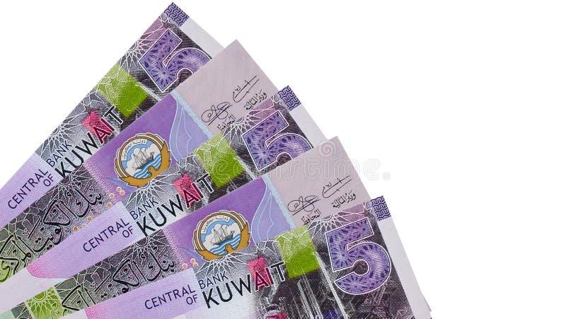 Sedelbakgrund för kuwaitisk dinar fotografering för bildbyråer