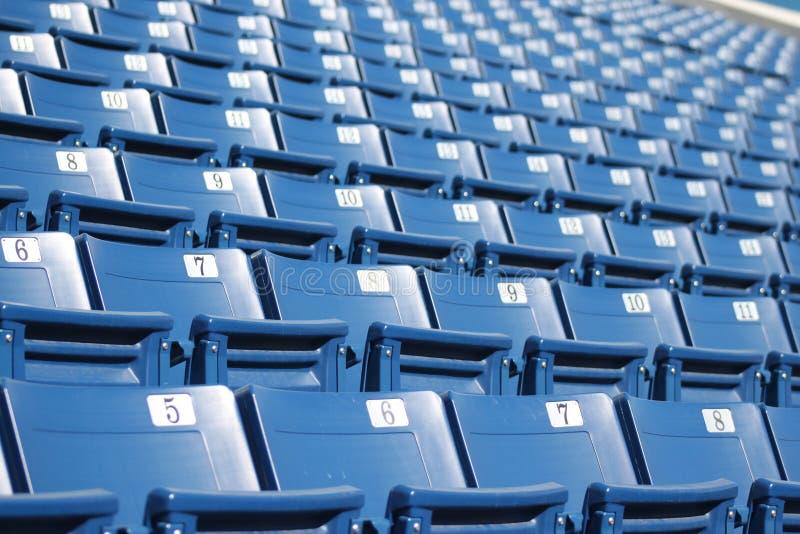 Sedi 3 dello stadio fotografie stock libere da diritti