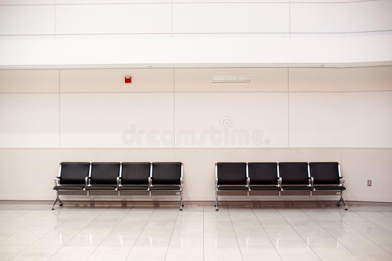 Sedi in aeroporto immagini stock libere da diritti