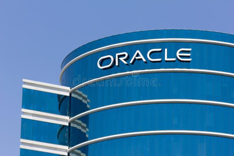 Sedi corporative di Oracle immagine stock