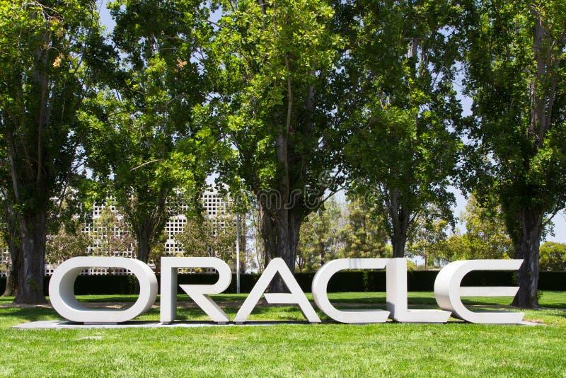 Sedi corporative di Oracle fotografia stock