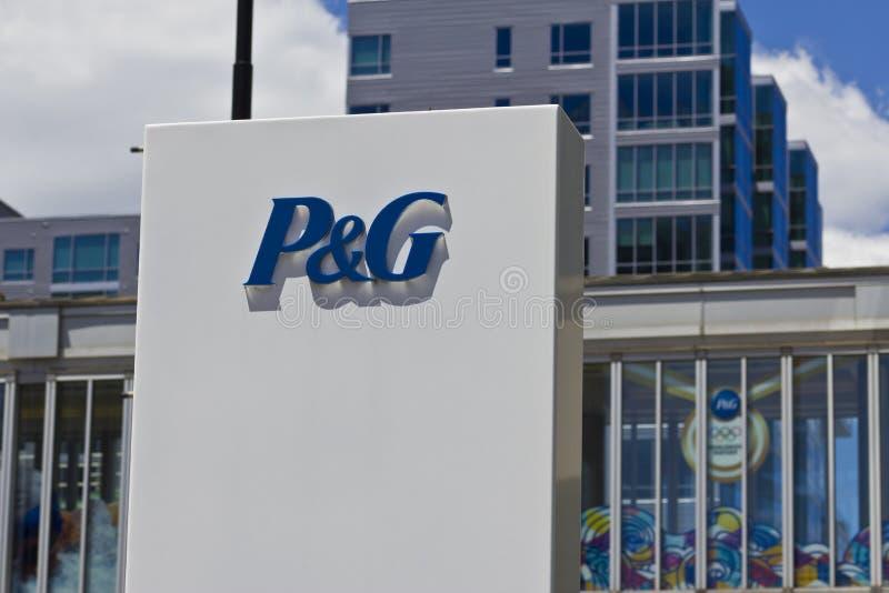 Sedi corporative di Procter & Gamble I fotografie stock libere da diritti