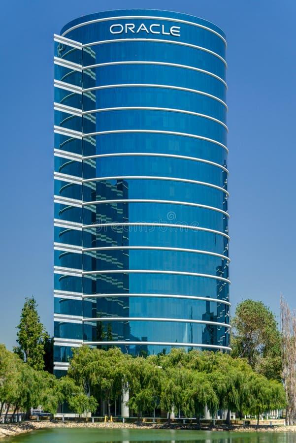 Sedi del mondo di Oracle Corporation immagine stock libera da diritti