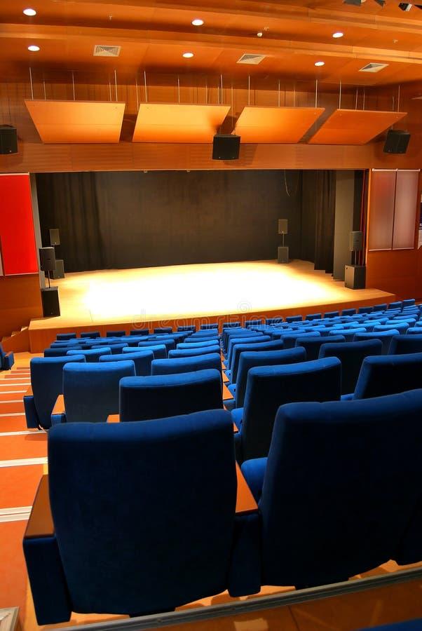 Sedi del teatro immagine stock