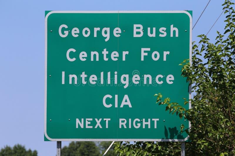Sedi di CIA fotografia stock libera da diritti
