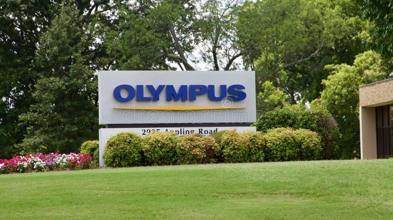 Sedi di industrie di Olympus che costruiscono Memphis, TN immagini stock