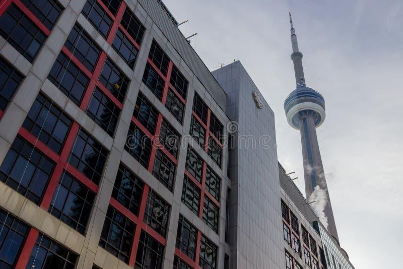 Sedi di Ontario del CBC della Canadian Broadcasting Corporation fotografia stock