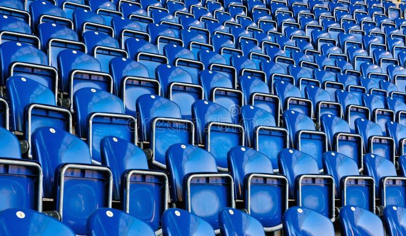 Sedi sullo stadio immagine stock