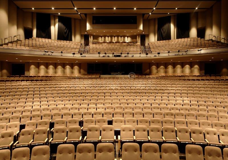 Sedi in un teatro immagine stock libera da diritti
