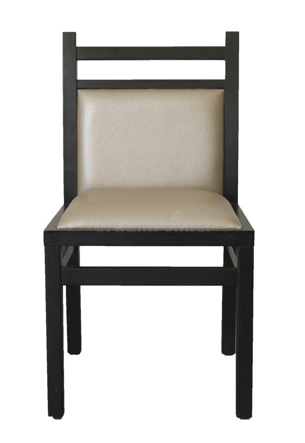 Sedia isolata su fondo bianco fotografie stock
