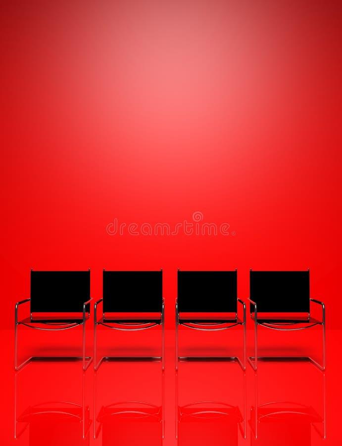 Sedie dell'ufficio royalty illustrazione gratis
