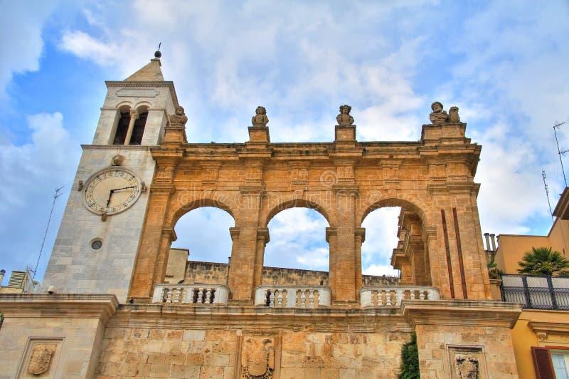 Sedile-Palast bari Puglia Italien lizenzfreies stockbild