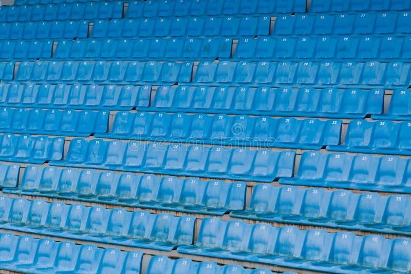 Sedili arena/dello stadio immagini stock libere da diritti