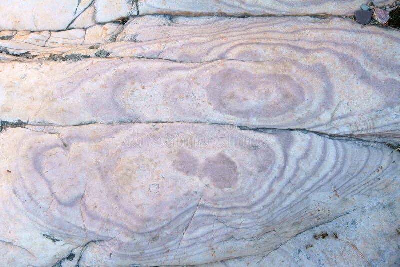 Sedimentär sten royaltyfria bilder