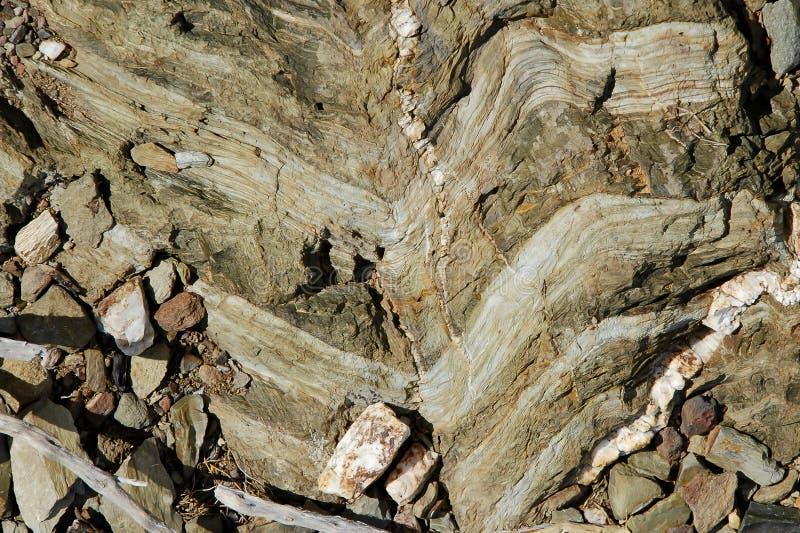 Sedimentaire Chevrons royalty-vrije stock afbeelding