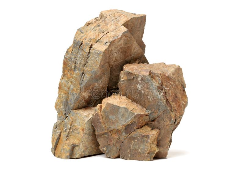 Sedimentary rocks royalty free stock image