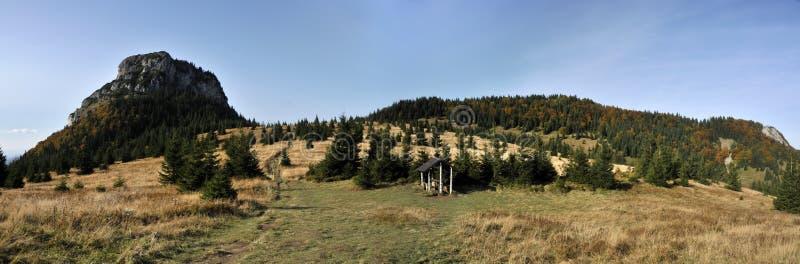 Sedlo Medziholie, Maly Rozsutec, Mala Fatra, Slovacchia fotografie stock