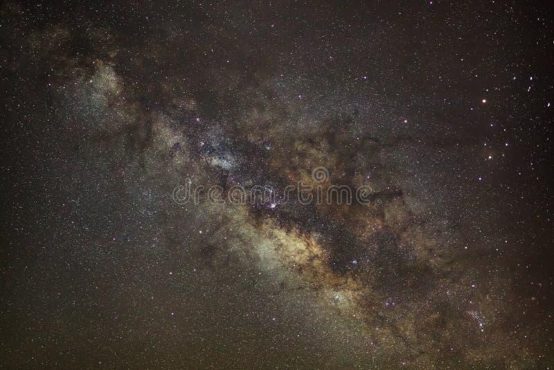 Sedno Milky sposób Galaktyczny centrum milky sposób zdjęcia royalty free