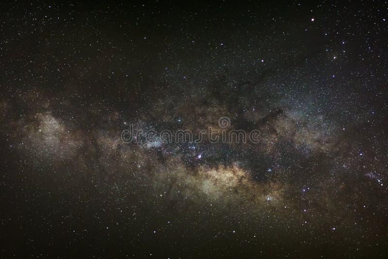 Sedno Milky sposób Galaktyczny centrum milky sposób, Długi exposu obraz stock