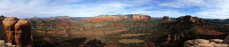 sedona панорамы стоковые изображения rf
