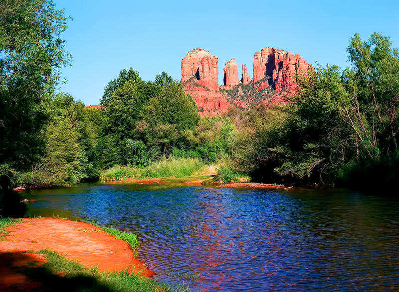 Sedona Arizona photos libres de droits