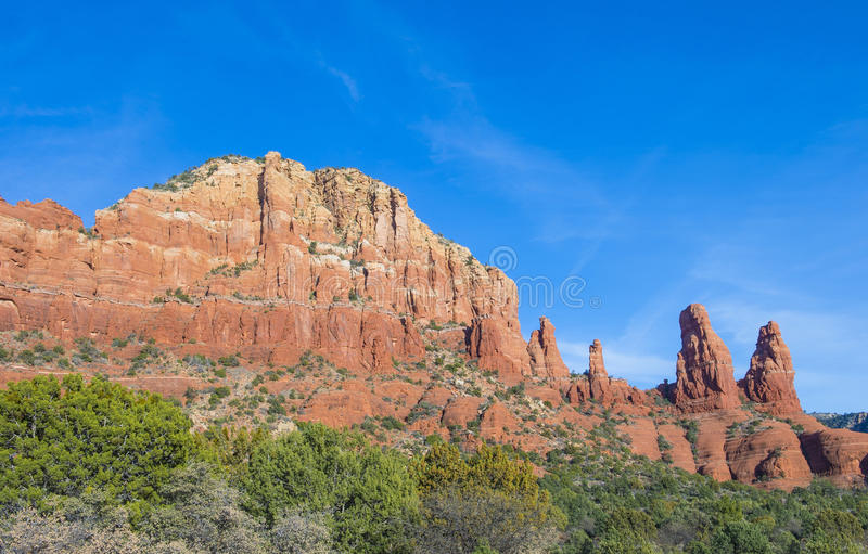 Download Sedona stock image. Image of america, hill, natural, plant - 30065645