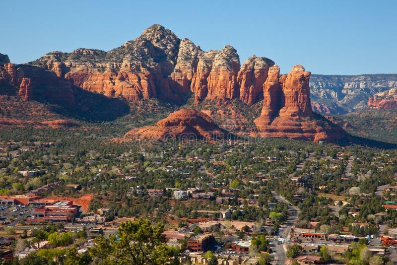 Sedona, Arizona bei Sonnenaufgang lizenzfreies stockfoto