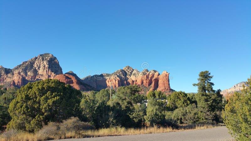 Sedona, Arizona-Rot-Felsen lizenzfreie stockfotos
